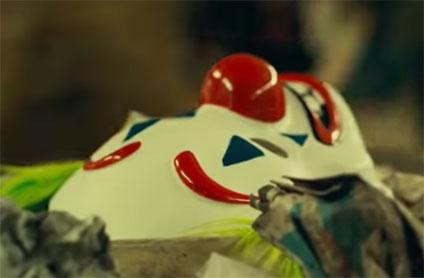 ピエロの仮面