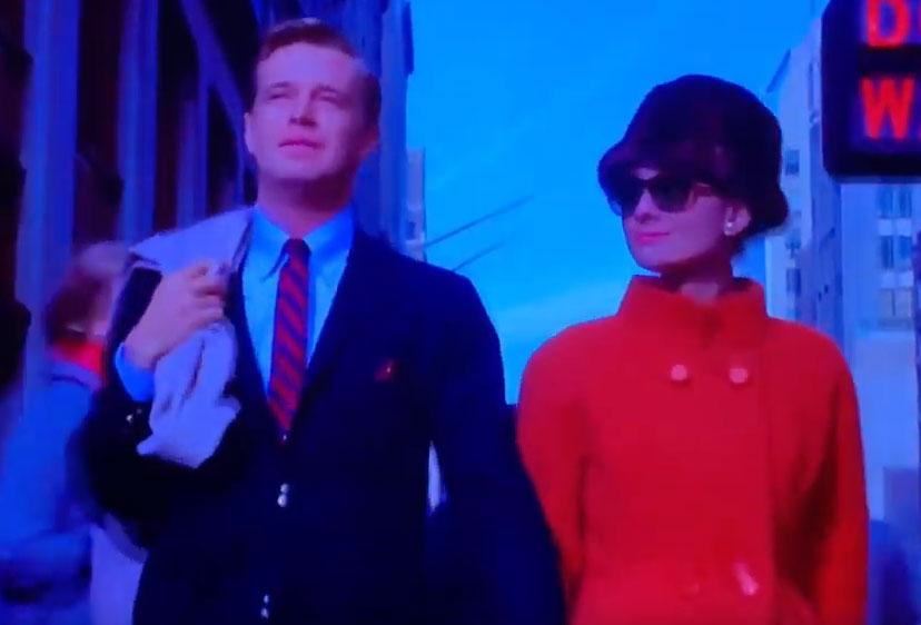 ホリーの赤いコート