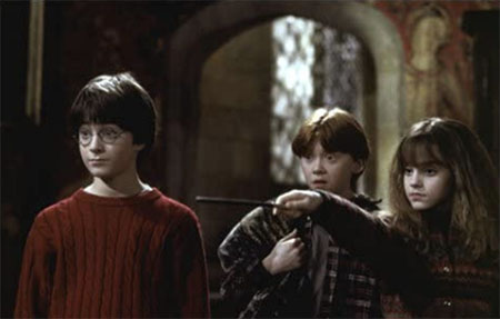 ハリー、ロン、ハーマイオニー