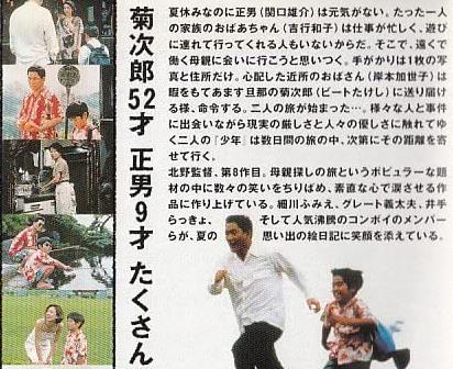 菊次郎の夏あらすじ