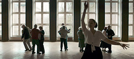 ダンスする人たち