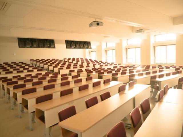 大学の教室