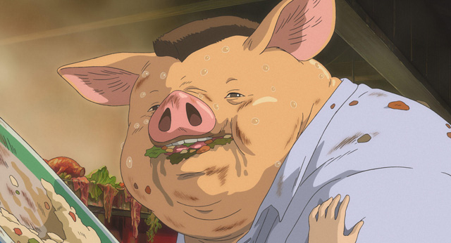 豚になった父親