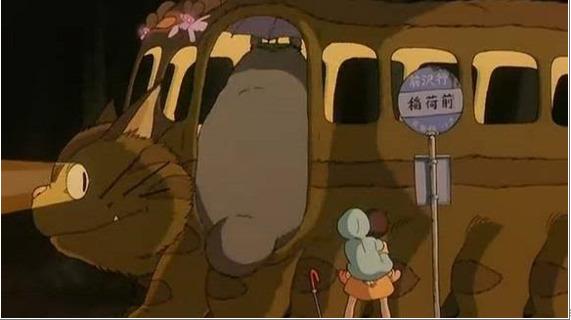 サツキ『トトロ、お父さんの傘持ってちゃった』