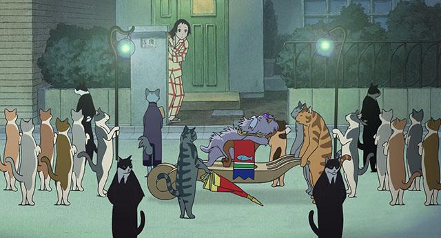 ハルの家に猫王一行が来る