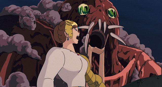 クシャナと王蟲