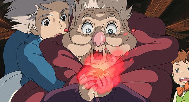 ハウルの心臓を掴む荒地の魔女