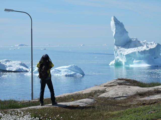 グリーンランドの氷河